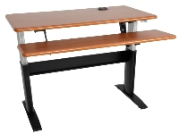 ESP Electric Height Adjustable Table - Dual Surface