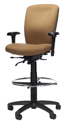 RFM Stool - Managers High Back Stool