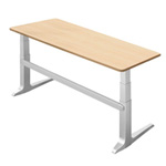 WorkRite Sierra Rectangular Electric Table