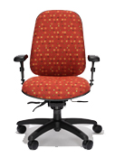 RFM Multi-Shift Intensive-Use Managers High Back Chair
